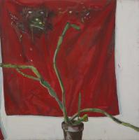 Cactus with Red Apron III