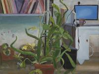 Computer and Plants in the Studio II