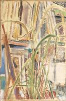 Lemongrass and Paintings