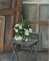 White Oleander on Chair