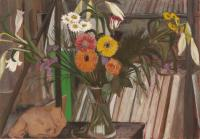 Flowers with Paintings