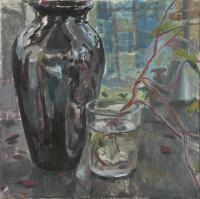 Vase and Glass